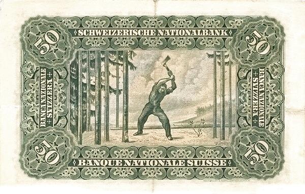 VERSO 50 francs Type 1910