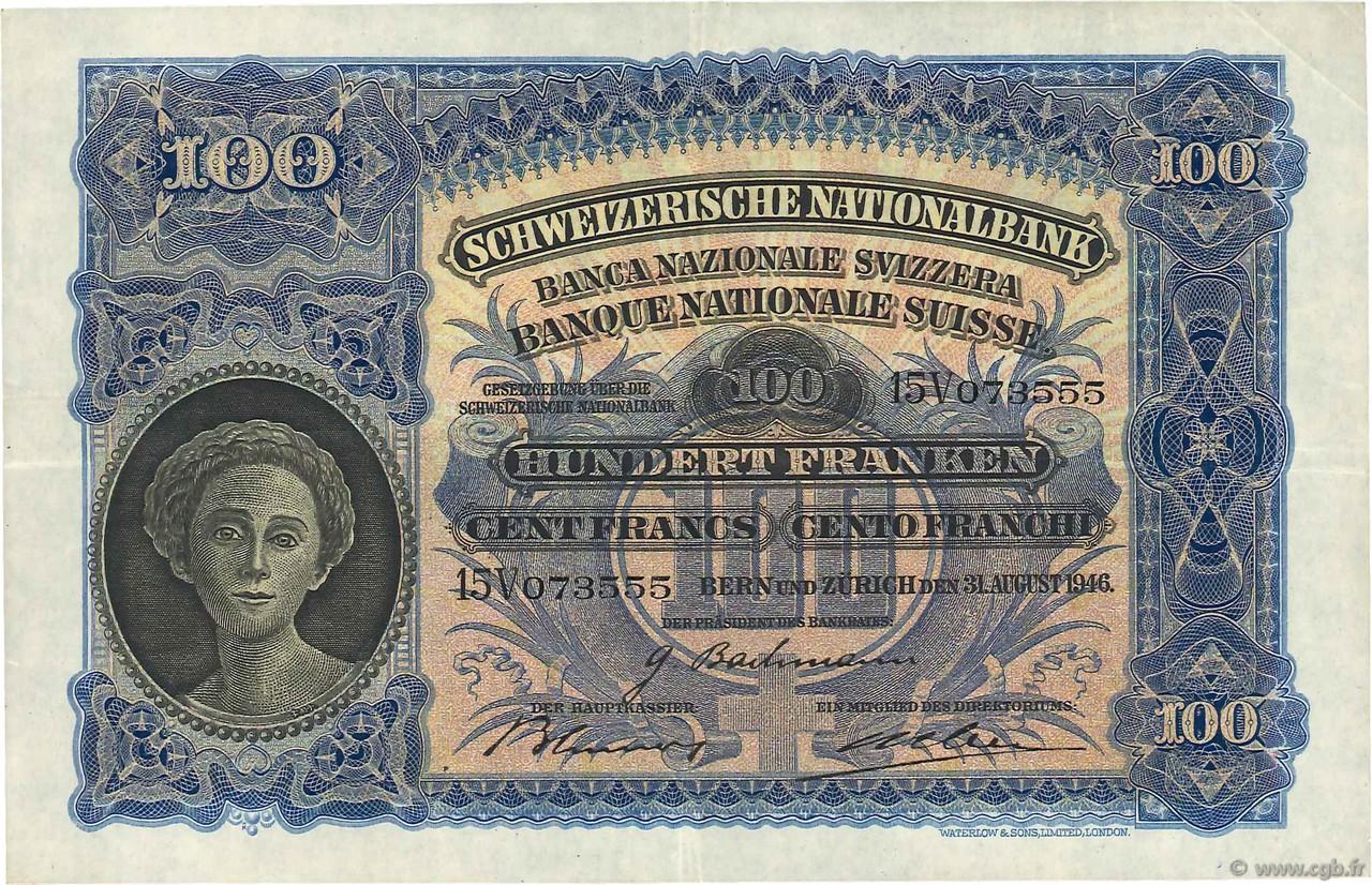 RECTO 100 francs Type 1924