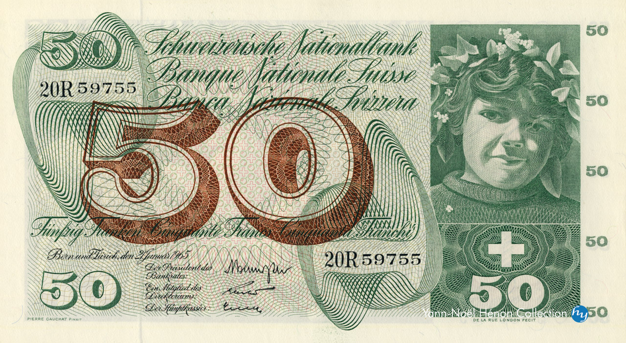 RECTO 50 francs Type 1961