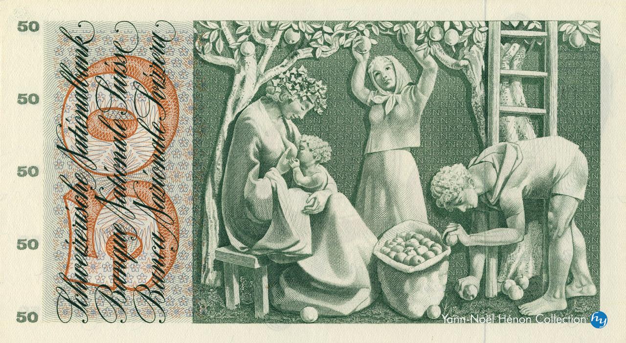 VERSO 50 francs Type 1961