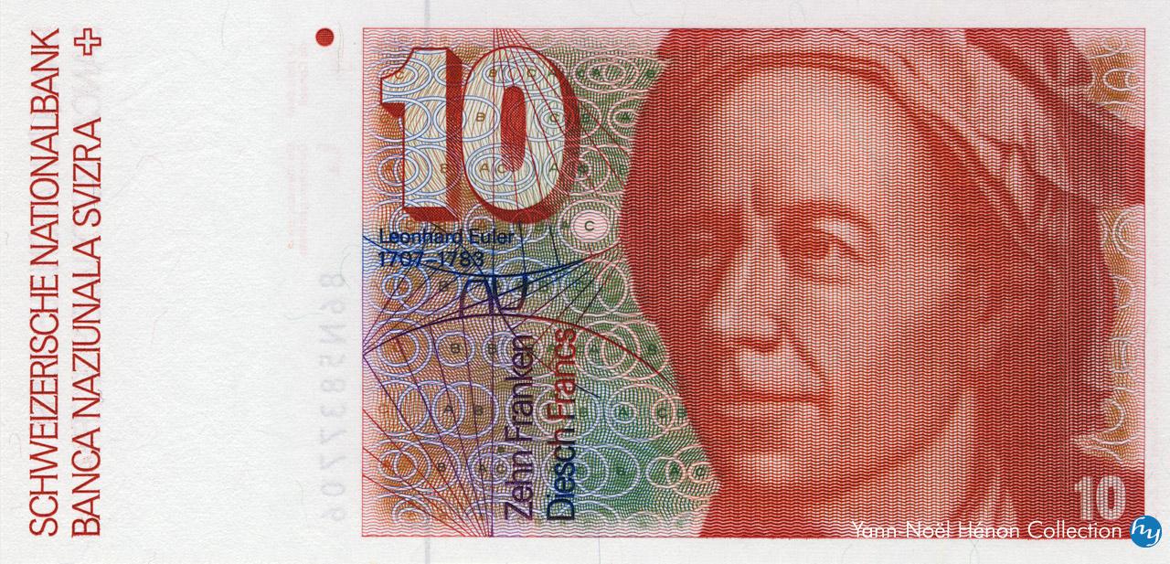 RECTO 10 francs Type 1979