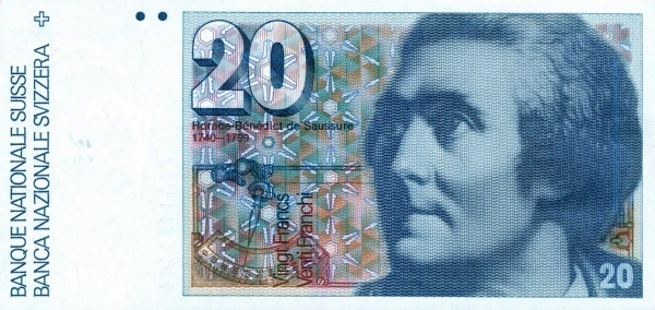 RECTO 20 francs Type 1978