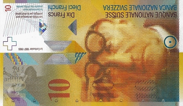 RECTO 10 francs Type 2006