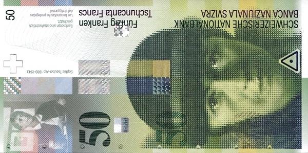 RECTO 50 francs Type 2004