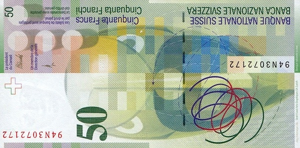 VERSO 50 francs Type 2004