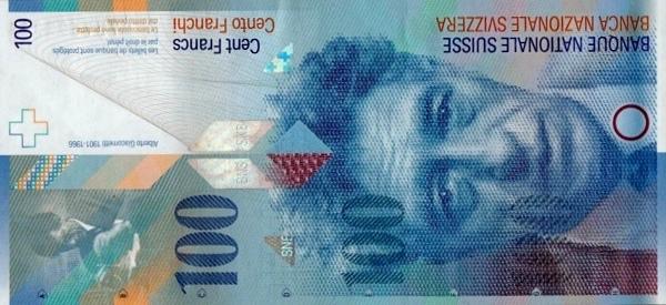 RECTO 100 francs Type 1996