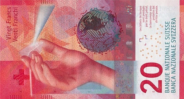 RECTO 20 francs Type 2015