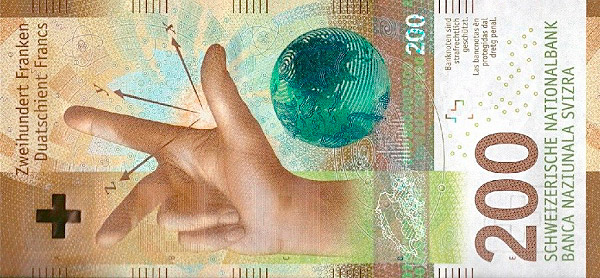 RECTO 200 francs Type 2016