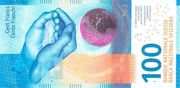 RECTO 100 francs Type 2017