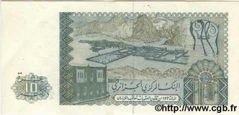 VERSO 10 dinars Type 1983