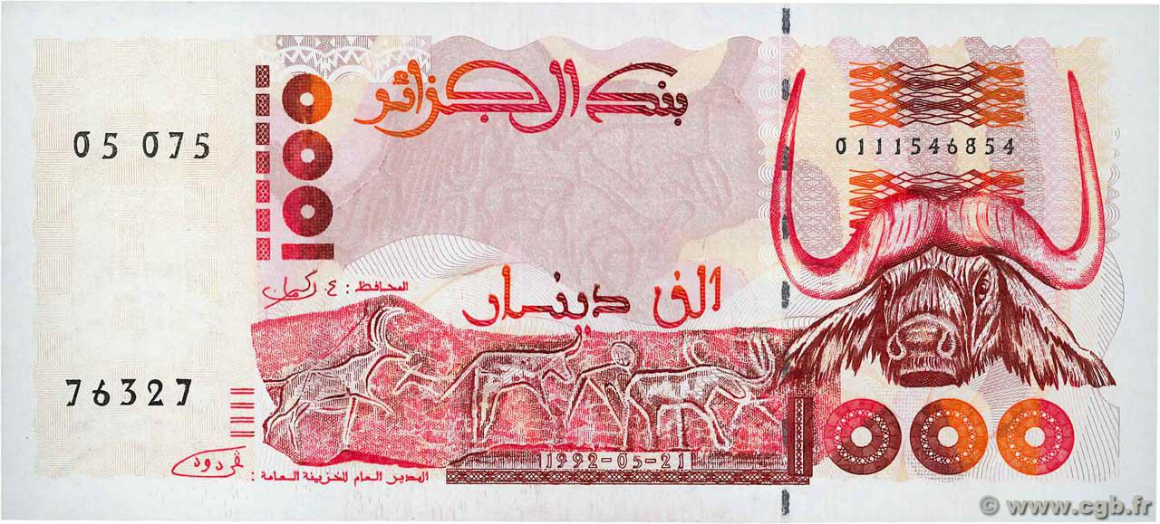RECTO 1000 dinars Type 1992