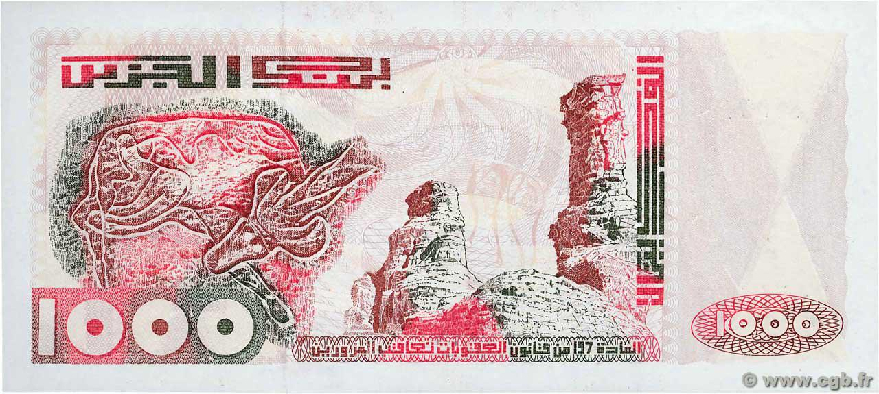 VERSO 1000 dinars Type 1992