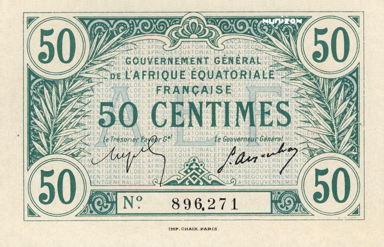 RECTO 50 centimes Type 1917