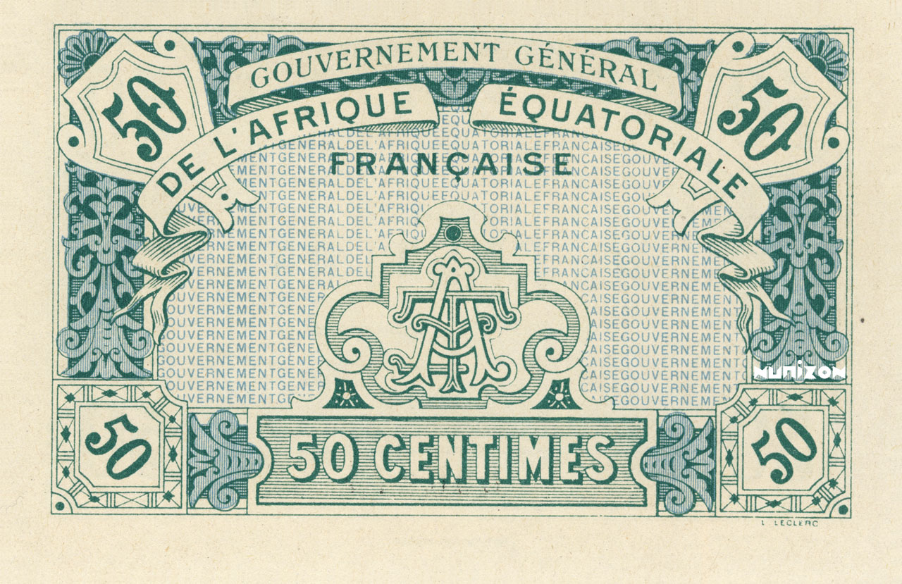 VERSO 50 centimes Type 1917