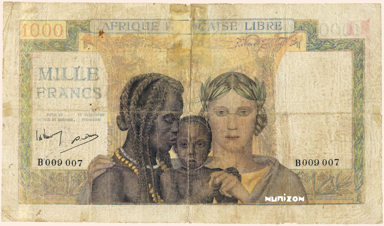 RECTO 1000 francs Type 1941 AFL