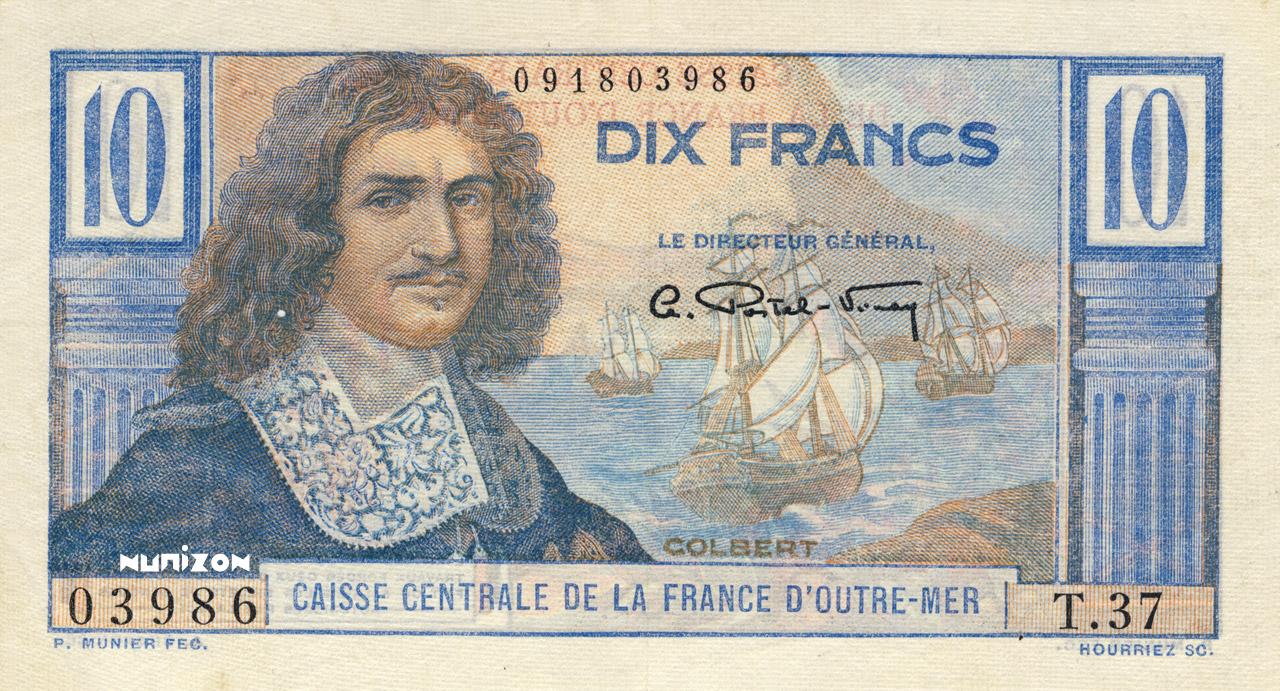 RECTO 10 francs Colbert Type 1947
