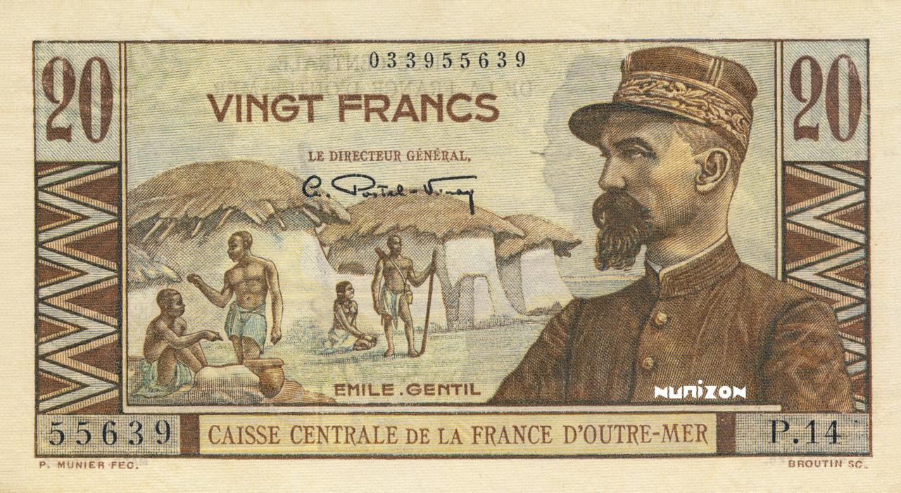 RECTO 20 francs Émile Gentil Type 1947