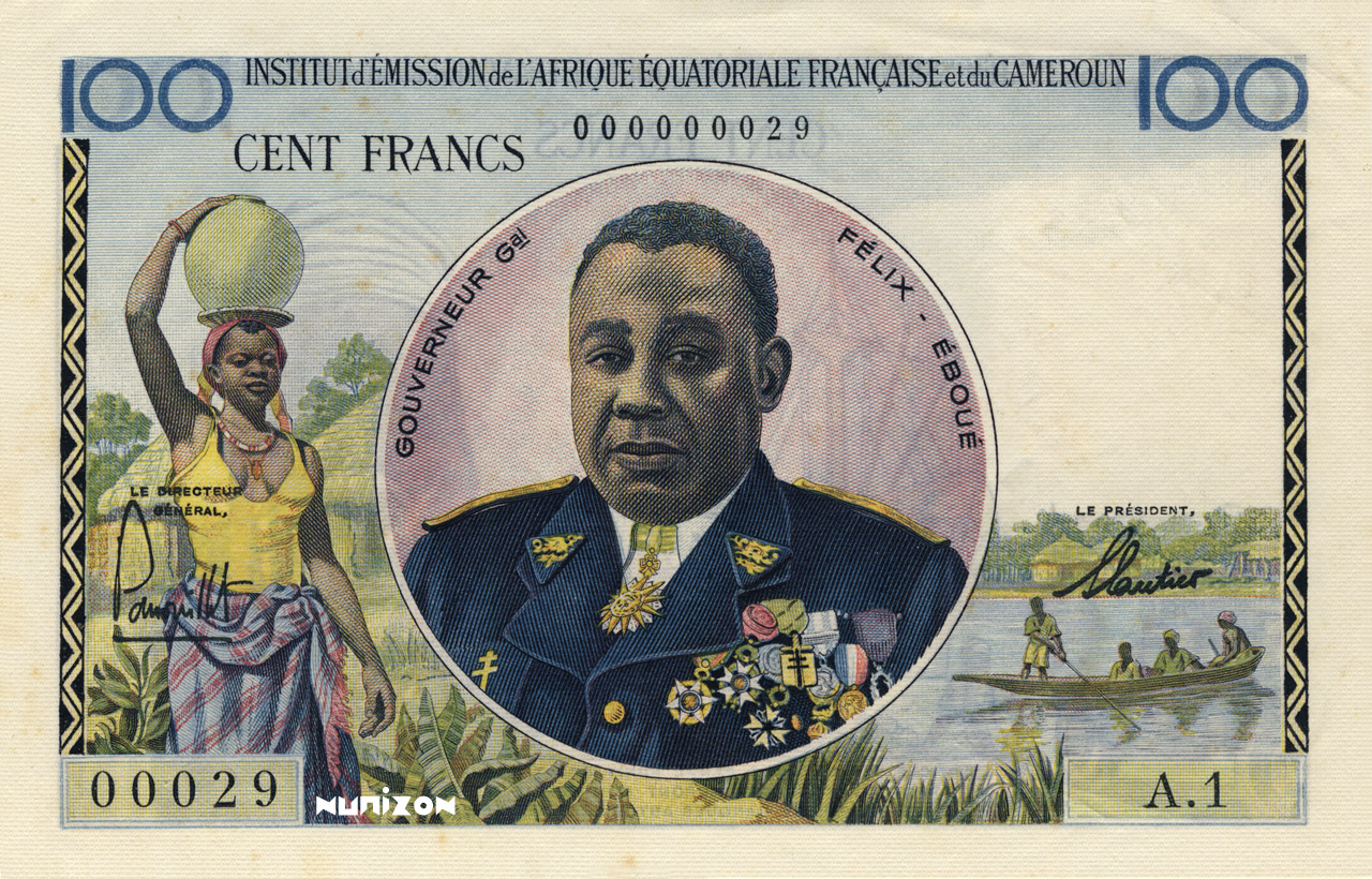 RECTO 100 francs Type 1957
