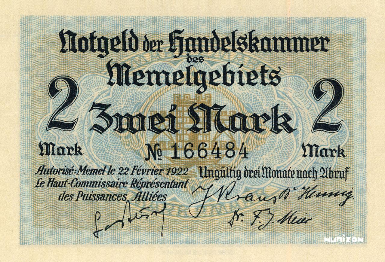 2 mark 1922 Pick##03