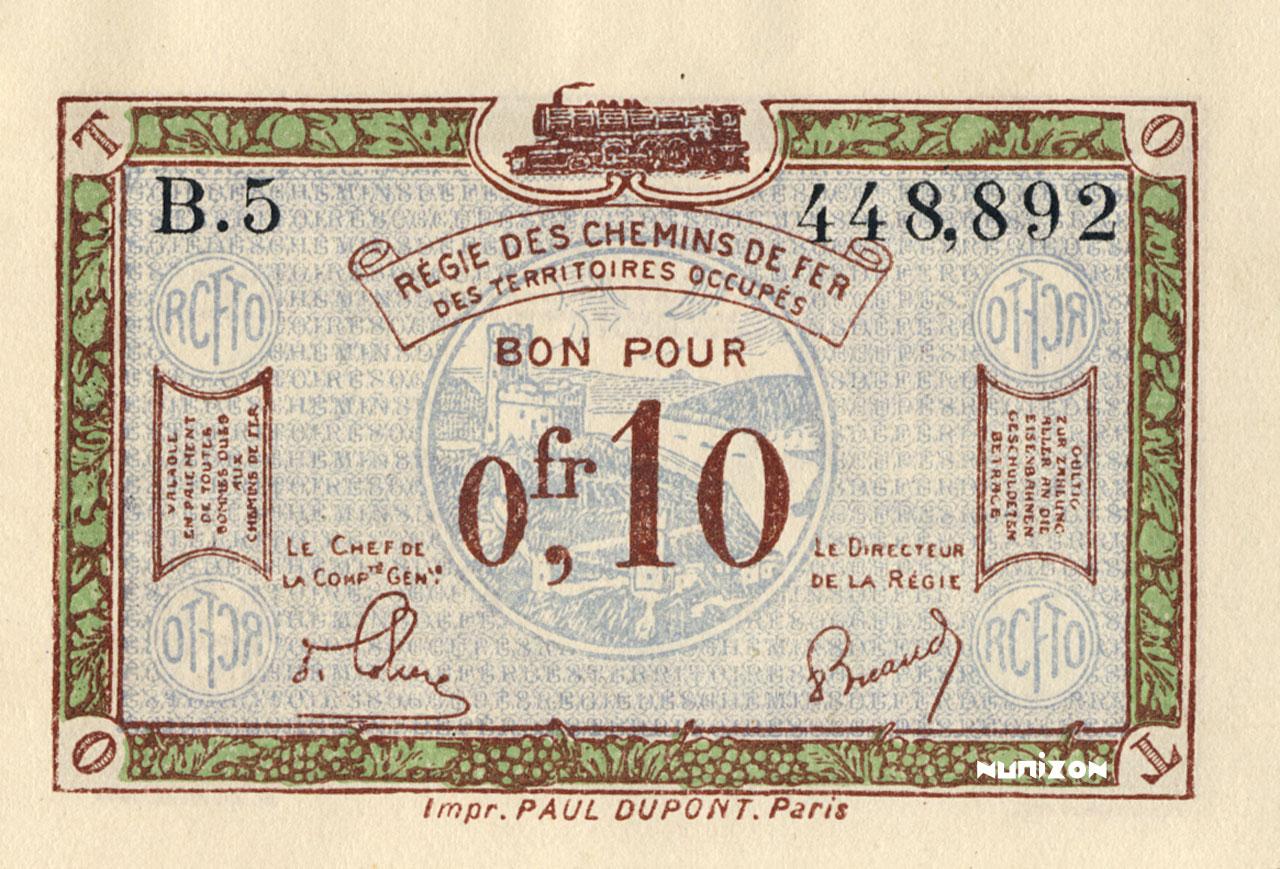 10 centimes 1923 Pick##R2