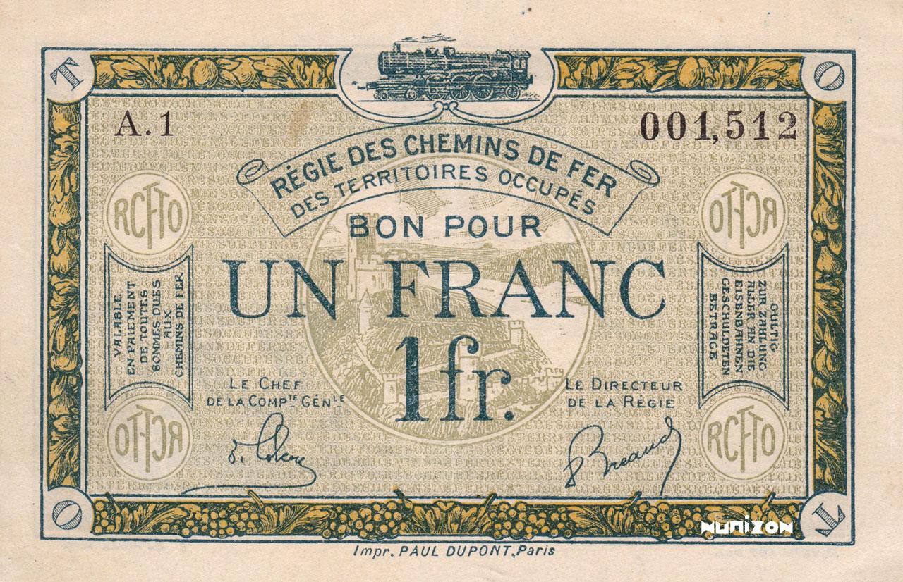 1 franc 1923 Pick##R5