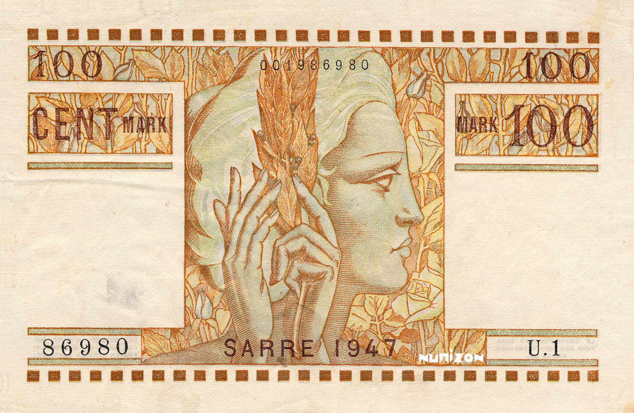 100 Mark Sarre 1947 Pick##08