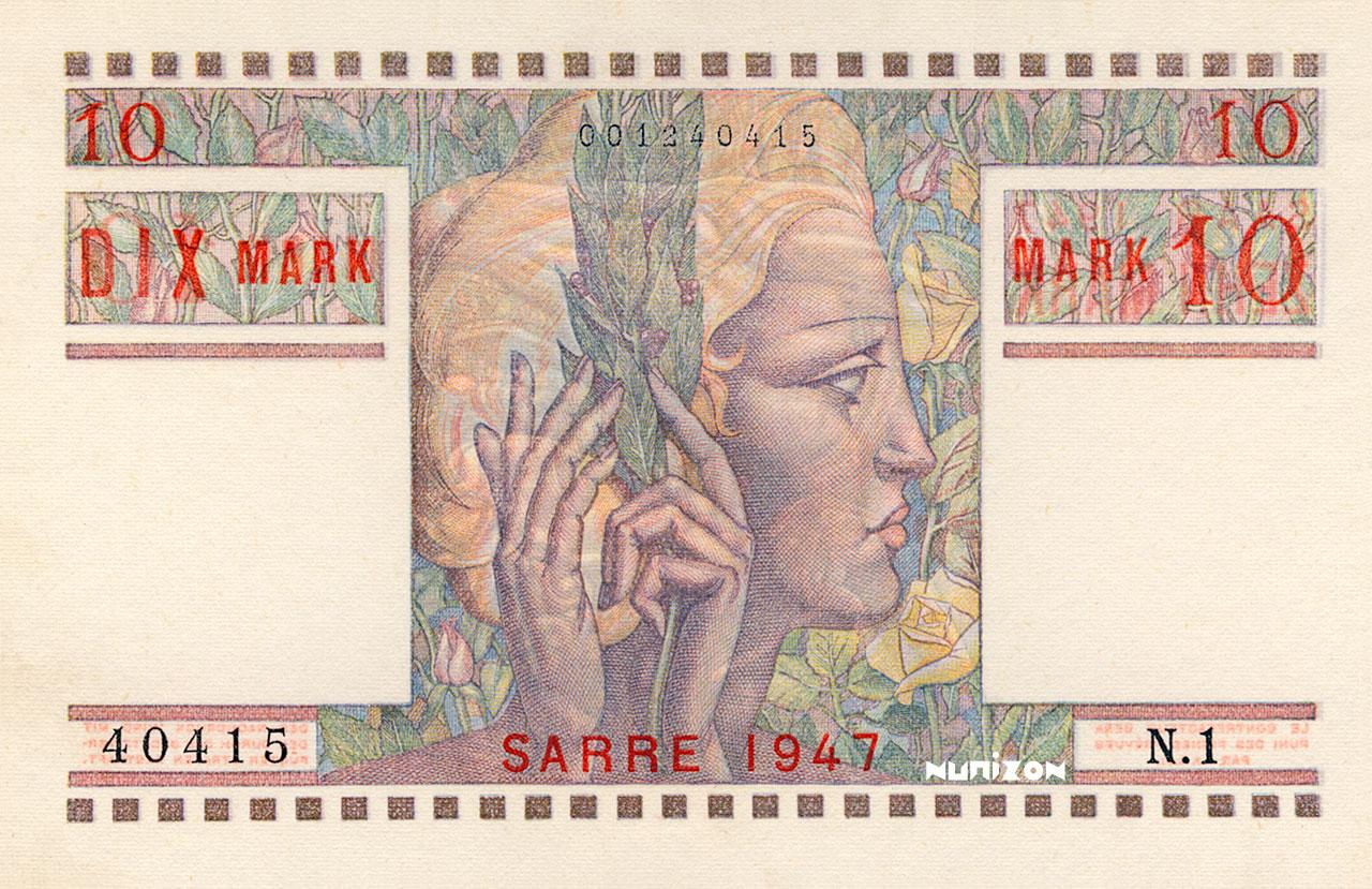 10 Mark Sarre 1947 Pick##06