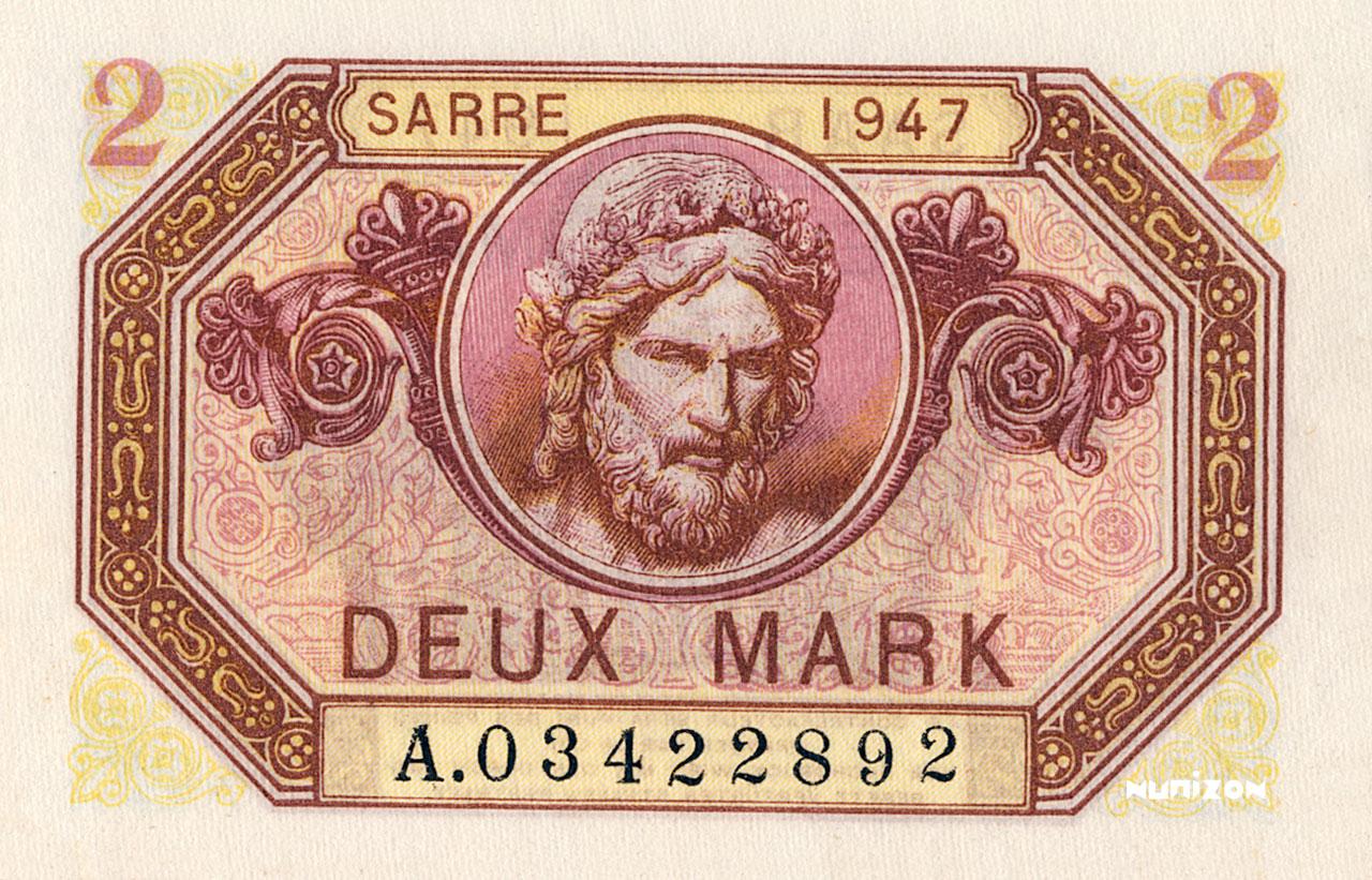 2 Mark Sarre 1947 Pick##04