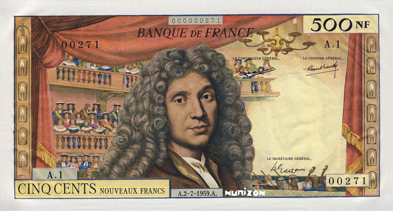 50 NF Molière 1959 Pick##145
