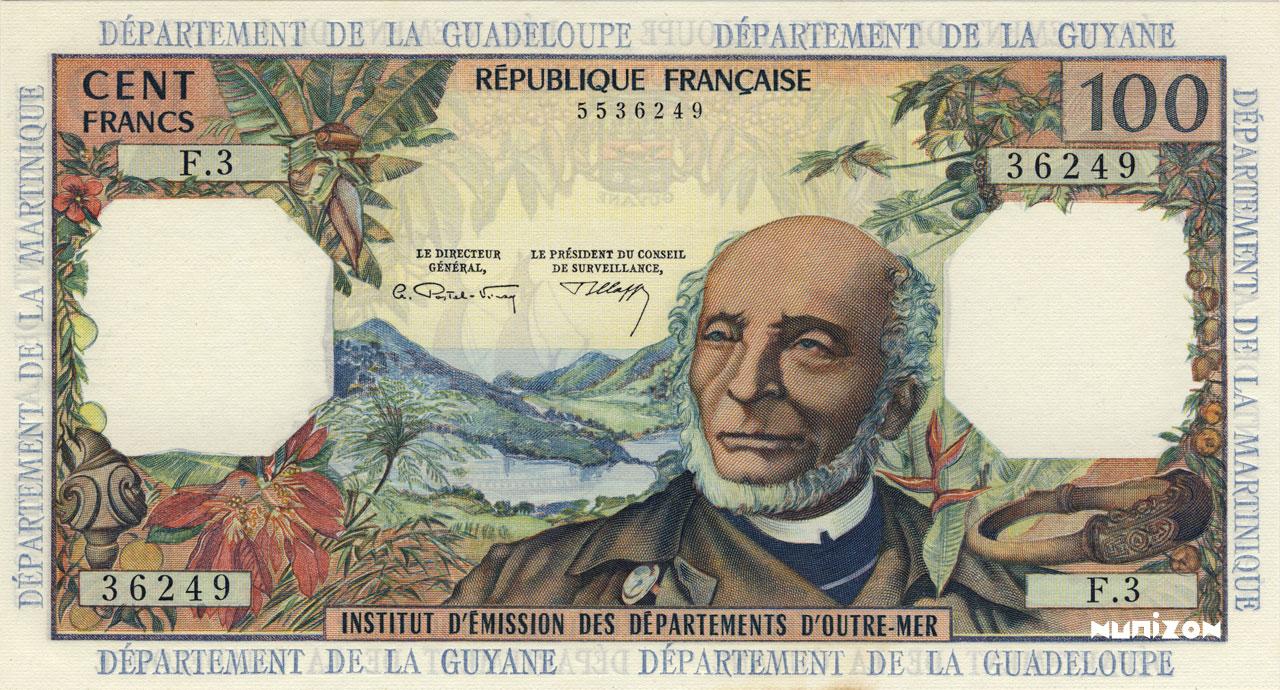 RECTO 100 francs Type 1964