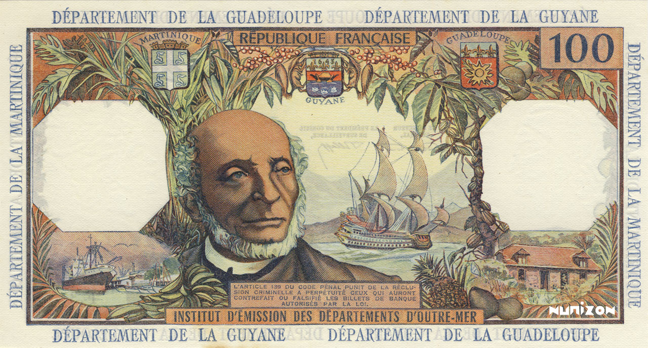 VERSO 100 francs Type 1964
