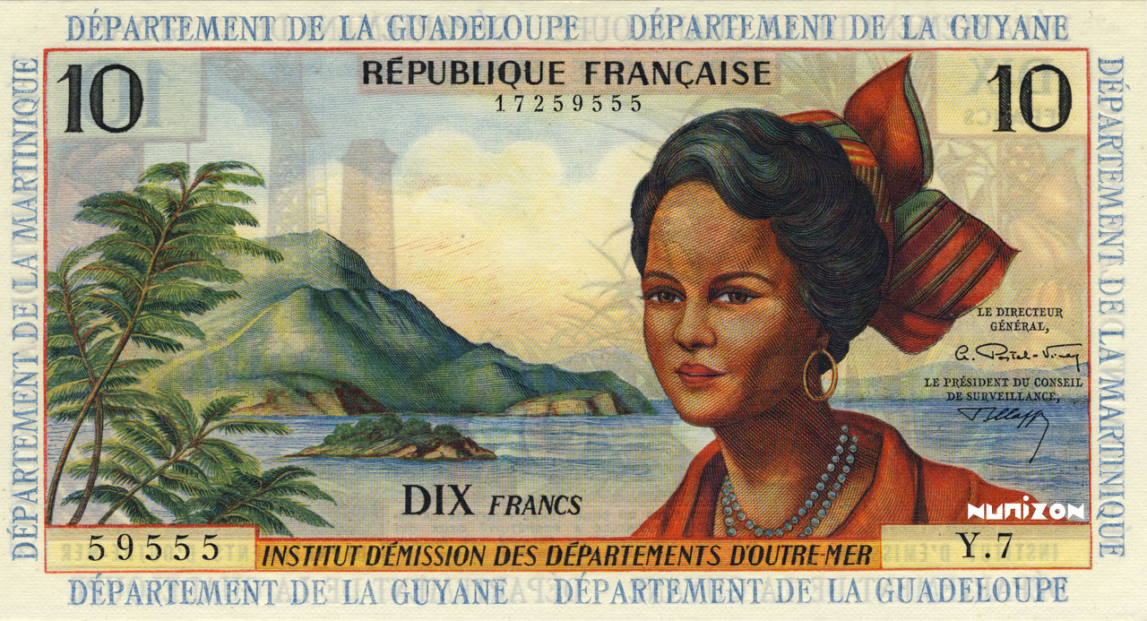 RECTO 10 francs Type 1964