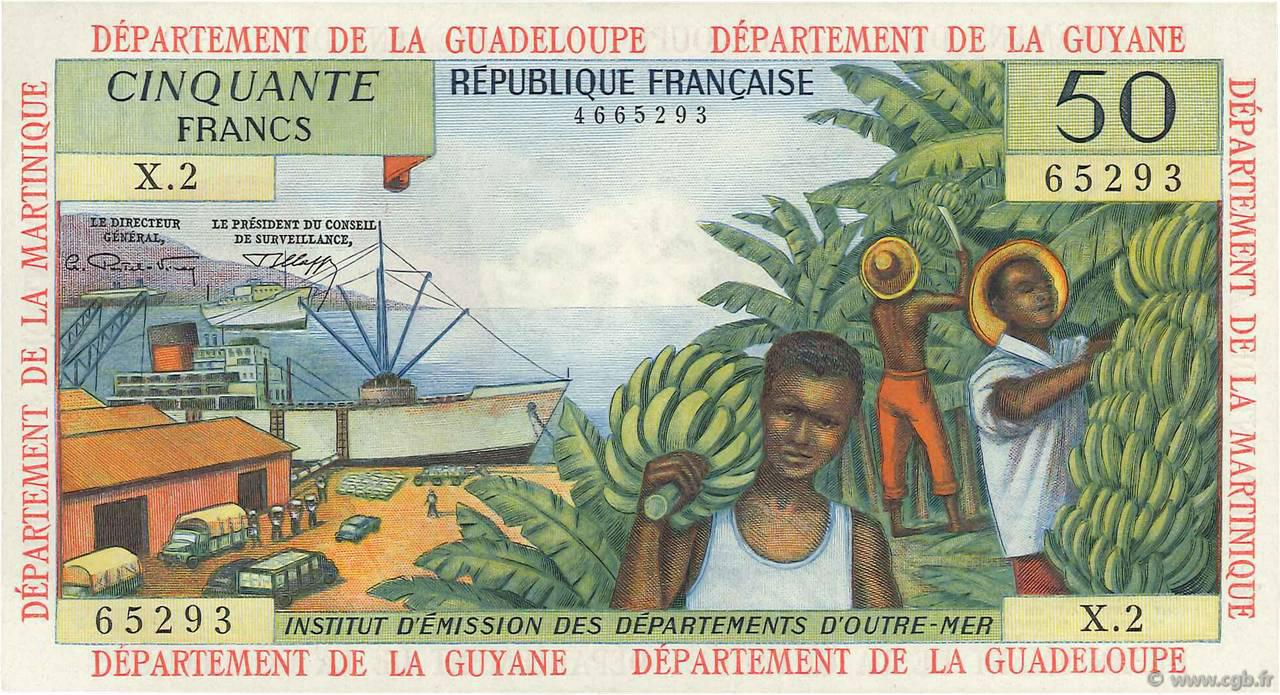 RECTO 50 francs Type 1964