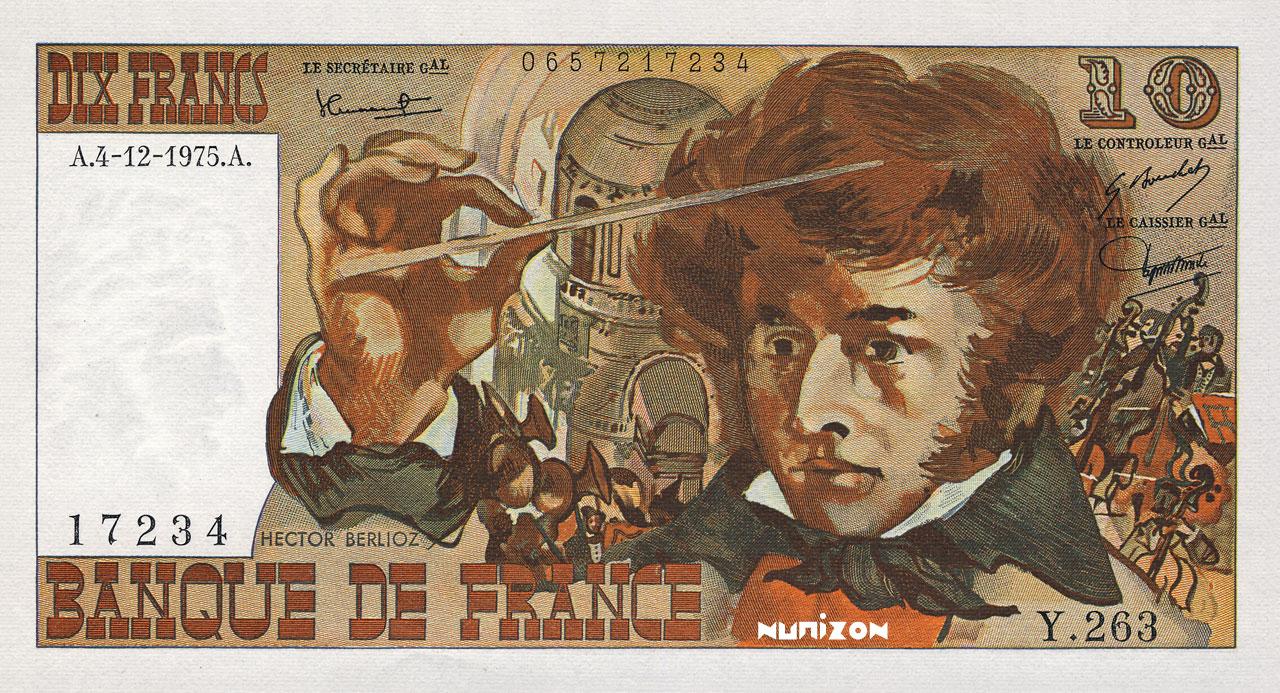 10 francs Berlioz 1972 Pick##150