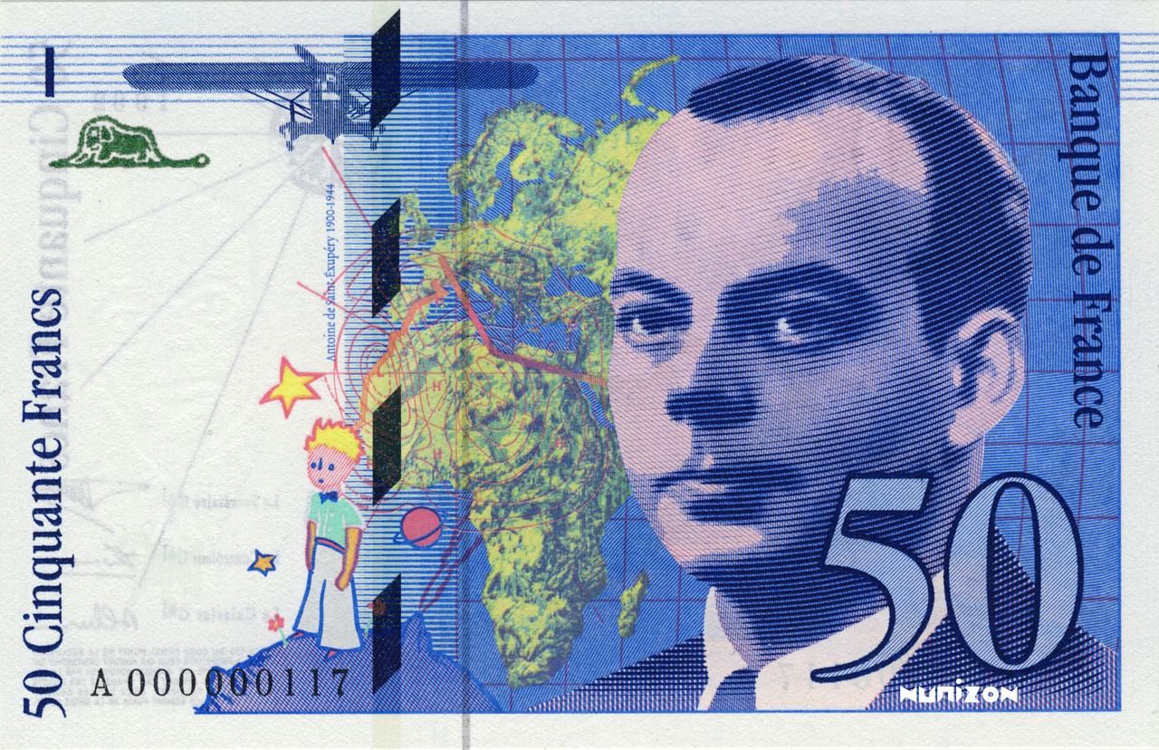 50 francs Saint-Exupéry 1992 Pick##157