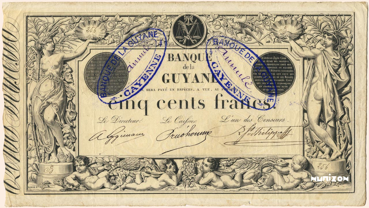 500 francs - Type 1874 - Rouge Pick##4