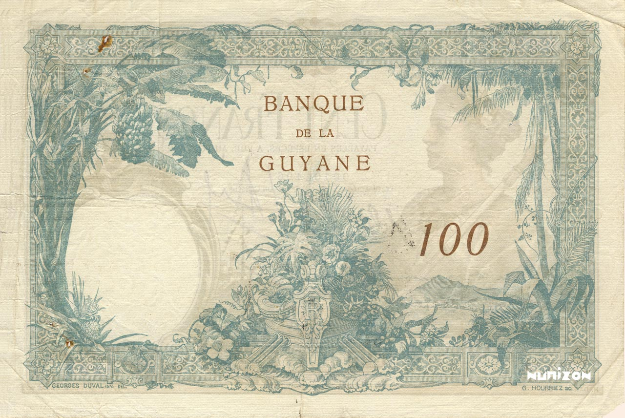 VERSO 100 francs Type 1927