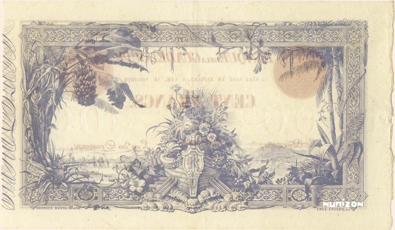 VERSO 100 francs Type 1905