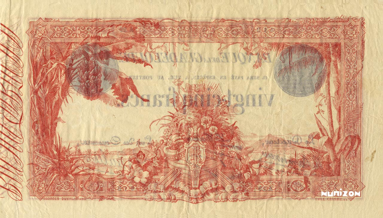 VERSO 25 francs Type 1905