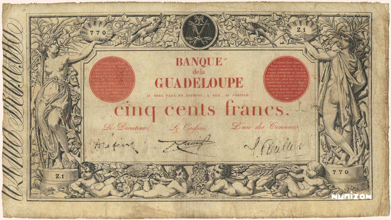 RECTO 500 francs Type 1874