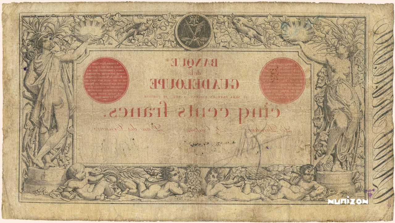 VERSO 500 francs Type 1874