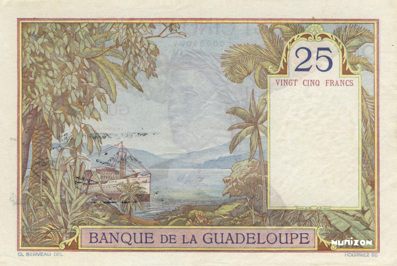 VERSO 25 francs Type 1934