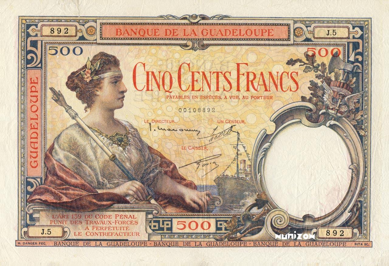 RECTO 500 francs Type 1934