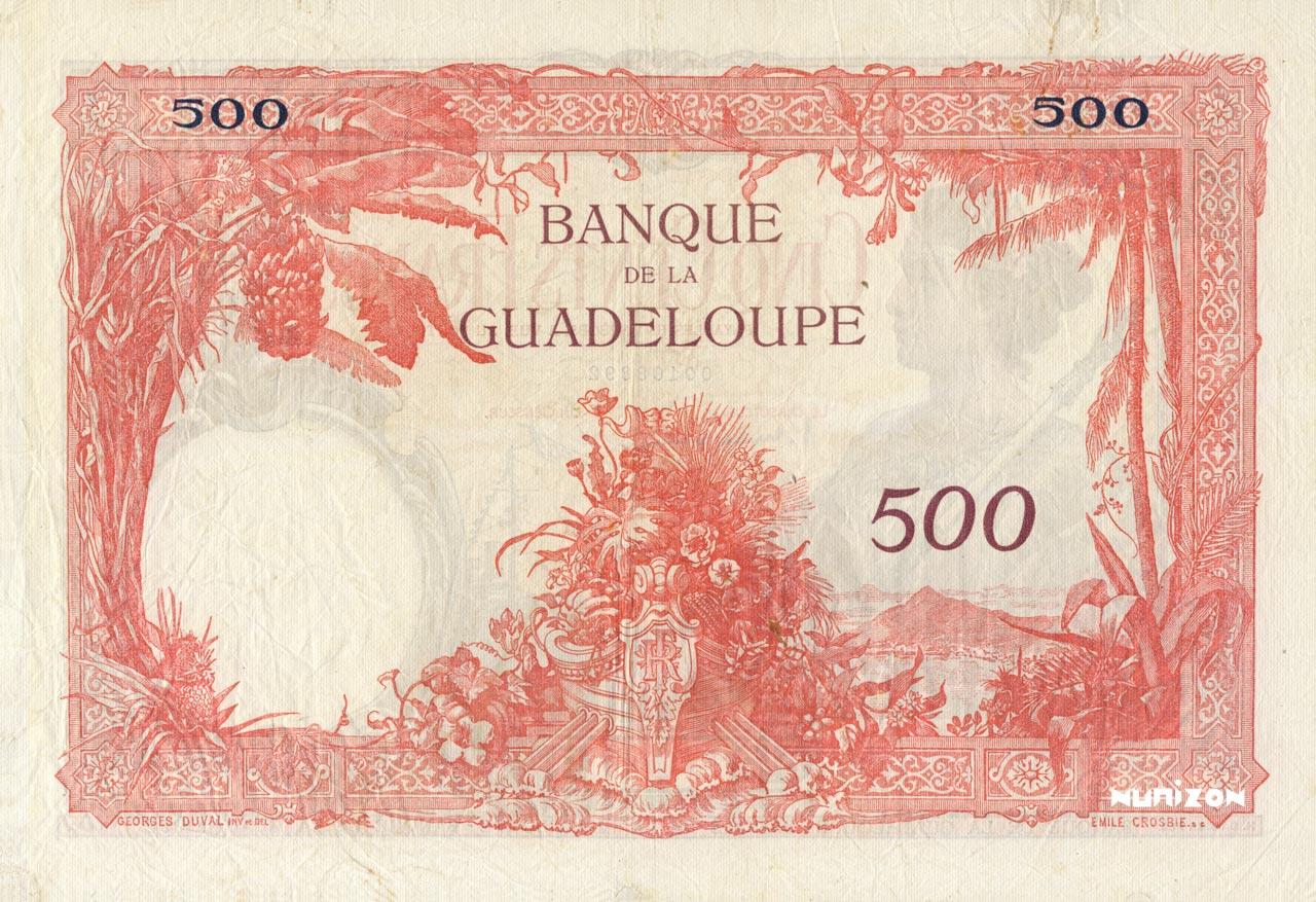 VERSO 500 francs Type 1934
