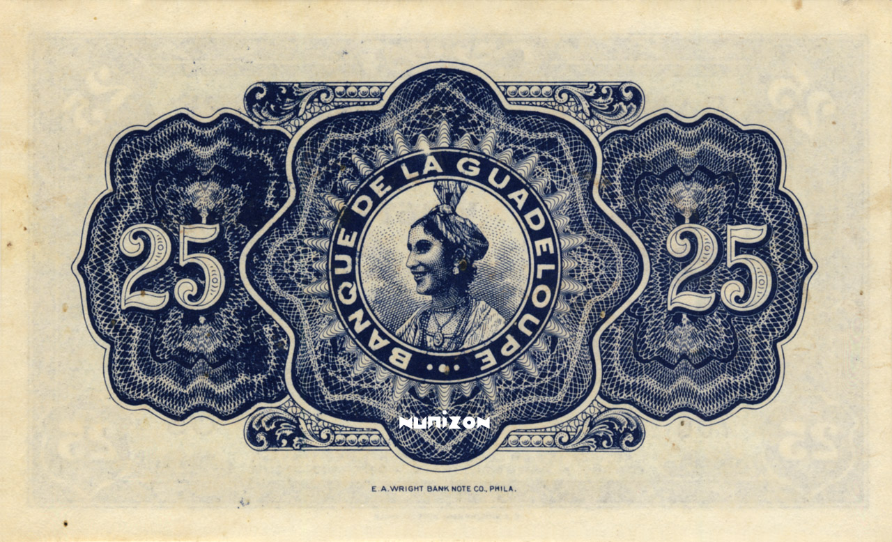 VERSO 25 francs Type 1942 (US)