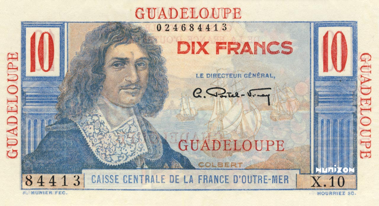 RECTO 10 francs Colbert Type 1946
