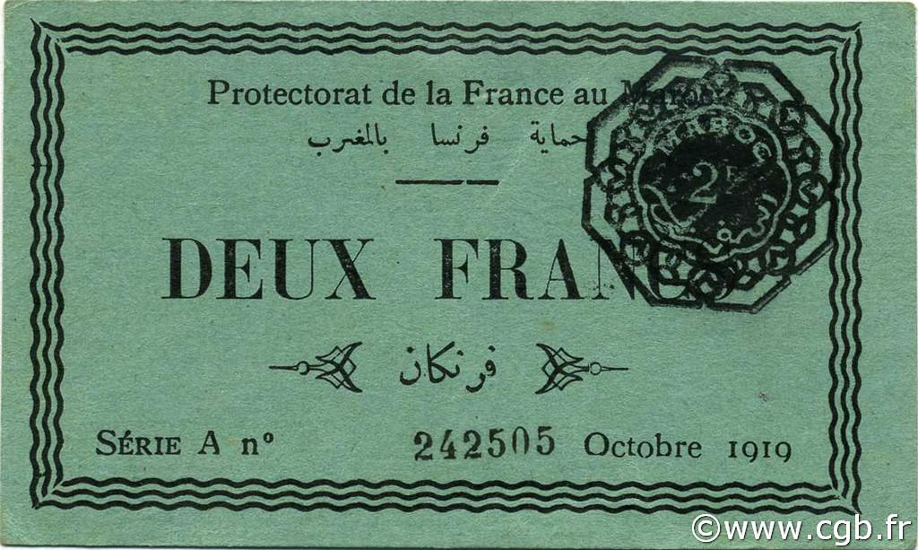 RECTO 2 francs Type 1919