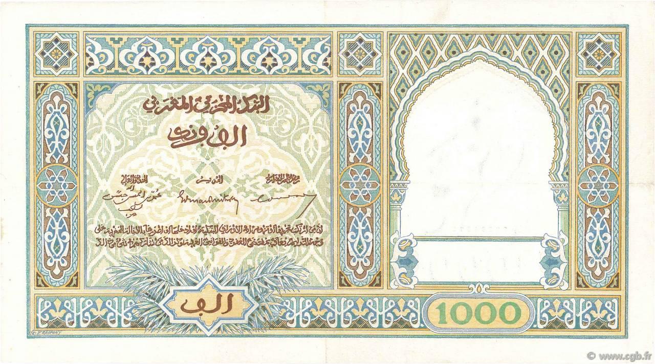VERSO 1000 francs Type 1921
