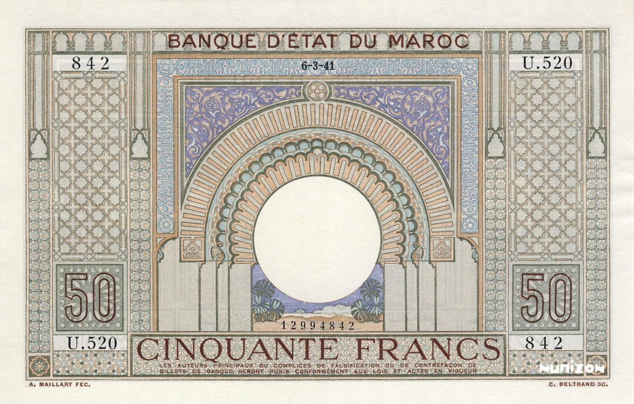 RECTO 50 francs Type 1935
