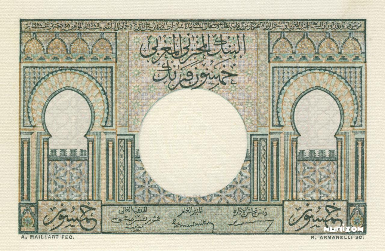 VERSO 50 francs Type 1949